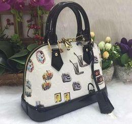 Wholesale Real Leather Men Handbags - women handbag real leather shoulder bag fashion bag lady leather handbag