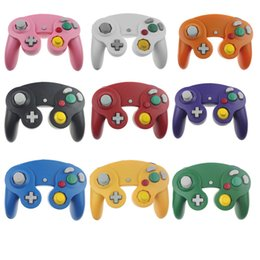 Wholesale Wholesale Shock Cord - NGC Wired Gaming Game Controller Gamepad Joystick Turbo DualShock for NGC Nintendo Console Gamecube Wii U Extension Cable Cord Q2