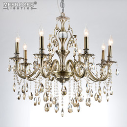 Wholesale Luxury Chandeliers For Dining Rooms - Modern Chandeliers Light Luxury Lustre Crystal Chandeliers Lighting Fixtures Lamp for Living Room Bedroom and Study Project Lamp