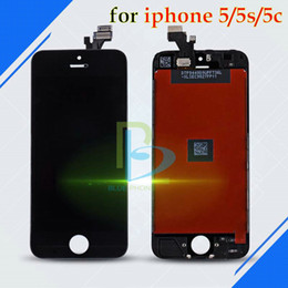 Wholesale Iphone5 Screen Replacement Wholesale - AAA+High Quality LCD Touch Screen Digitizer Assembly Replacement For Iphone5 5S 5C LCD