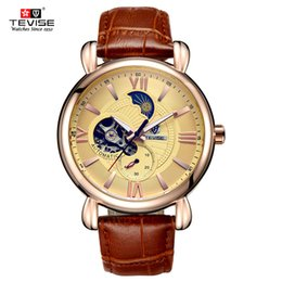 Wholesale Alibaba China - Luxury Automatic Men's Watch , Gold Black Watch made in China Alibaba