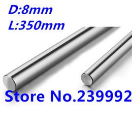 Wholesale 8mm Linear - Wholesale- 8mm linear shaft 350mm Linear rail round shaft 8mm guide rail for cnc parts 3D printer