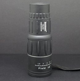 Wholesale Monocular 16x52 - Hot sell 16X52 high power ultra clear double adjustment monocular telescope