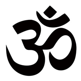 Wholesale Car Yoga - For Om Aum Symbol Yoga Car Truck Boat Window Bumper Vinyl Decal Car Styling Sticker Jdm Funny Graphics