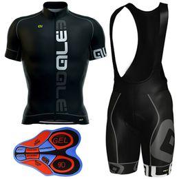 Wholesale Cycling Shorts Sizing - 2017 Ale Black Bike Wear Cycling Jersey + 9D Gel Padded Bib Shorts Pro Team Cycling Clothing Size XS-4XL Maillot Ciclismo