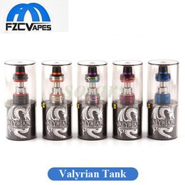Wholesale Pins Wholesale - Authentic Uwell Valyrian Tank 5ml Top Refilling Vape Sub Ohm Atomizer with Swappable Contact Pin 5 Colors 100% Original