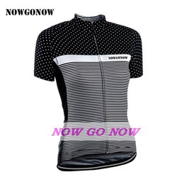Wholesale Cycling Jersey Customize - Can be customized 2017 cycling jersey women clothing bike wear black nowgonow pro racing ropa ciclismo mtb road xxs-xxxl 100% Polyester