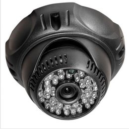 Wholesale Wide Angle Lens Cctv Camera - Wide angle CMOS COLOR 1200TVL 48IR 2.8mm lens Cctv Security Camera Indoor Video Closed System CCTV - Wired