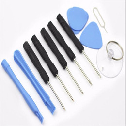 Wholesale Screw Phone - 11 in 1 Screw Driver Tool Kits Cell Phone Repair Tool Set For iPhone Samsung HTC Sony Motorola LG