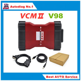 Wholesale Diagnosis Tools - 2017 V98 VCM II IDS Diagnosis tool green single Board For Ford Mazda VCM 2 VCM2 OBD2 Scanner Free shipping