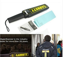 Wholesale Garrett Gold Metal Detector - GARRETT Protable Super Scanner Hand Held Gold Metal Detector High Sensitivity Security Detectors Product