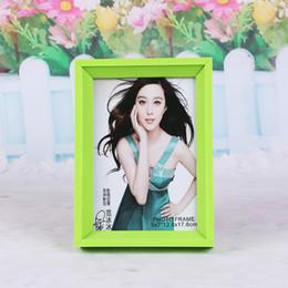 Tavolo per foto online-Plastica PVC Photo Frame Table Hang The Wall creativo di alta qualità Picture Frames Multi Function 2 9ys H R