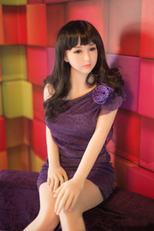 Wholesale Lifelike Inflatable Dolls - Free shipping 160cm Top quality life size silicone sex doll, lifelike love dolls, real adult dolls vagina anal, sexy products for men