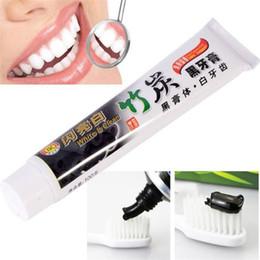Dentifricio di bambù di carbone online-Alta qualità migliore dentifricio carbone dentifricio sbiancante dentifricio nero carbone di bambù igiene orale dentifricio