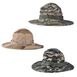 Wholesale Sniper Tactical Camouflage - Unisex Fishing Hiking Accessories Airsoft Sniper Military Jungle Neutral Tactical Camouflage Hats Cap 12 Color