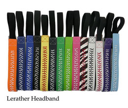 Wholesale Headband Pop - New fashion accessories hair accessories Softball with female pop lead the hoop free shipping