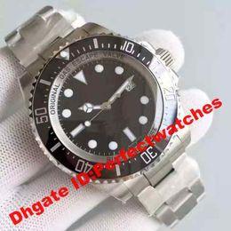 Wholesale Eta Diver - Super Clone Luxury Noob 1:1 Sea-Dweller Sea DEEP 116660 Mens watch James Cameron Faded D-Blue ETA CAL.3135 Automatic D-Blue Ceramic Watches