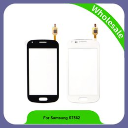Wholesale Duos S7562 - 4.0 inch Touch Screen For Samsung Galaxy S Duos S7562 S7560 Touch Screen Digitizer Sensor Panel For Samsung S Duos S7562 S7560