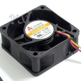 25mm lüfter 12v online-Großhandels-Y.SETCH FD126025HB 6025 6CM 60 * 60 * 25MM 12V Gehäuselüfter-Stromversorgungsventilator stille Art