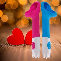 Wholesale New Products Sex - NEW 12 Speed Tongue Sex Toys For Women, Licks Clitoris Sucker Stimulation, Powerful Mute Silicone G Spot Vibrator Sex Products