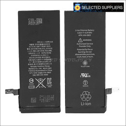 Wholesale Mobile Phone Cycling - Selected Factory wholesale zero cycle battery For 6G replacement mobile phone battery 2017 new 1810mAh freeshipping akku