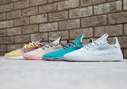 Wholesale Light Running Shoes Free - Free Shipping 2017 Mens Tennis Hu x Pharrell Williams Running Shoes Pw Tennis Hu Sneakers On Sale Come With Box