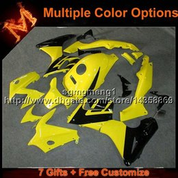 Wholesale Honda Cbr125r Fairings - 23colors+8Gifts YELLOW bodywork motorcycle cowl For Honda 2004 CBR125R 2002 2007 CBR 125R 02-07 ABS Plastic Fairing