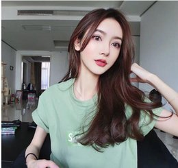 Wholesale Classic Kimono - Classic SUP letters printed short-sleeved palace yeezus aape hip hop street couple T-shirts cotton solid color round neck t-shirts