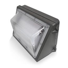 Lámparas de pared tradicionales online-Wall Paquete AC110-277V IP65 100W 80W 60W LED de luz de lámpara llevada al aire libre montado en la pared de la lámpara Wallpack lámpara de luz equivalente 400W tradicional