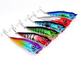 Canada Haute Quanlity Vivid réaliste forme de poisson Popper Artificielle Leurres 8.5cm 12g En Plastique Basse Bait Top eau leurre De Pêche En Eau Douce cheap top bass fishing lures Offre