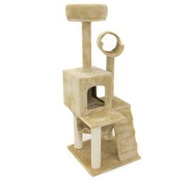 "Wholesale Cat Tree Condo House - Deluxe 52"" Cat Tree Tower Condo Scratcher Furniture Kitten House Hammock"