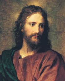 Wholesale Painting Canvas Jesus - Framed,JESUS,Pure Handpainted Portrait Art Oil Painting On High Quality Canvas Multi Sizes Free Shipping tn 002