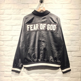 Wholesale Men Women Clothes - FEAR OF GOD Fifth Collection BIEBER street brand Clothes Clothing Mens jackets kanye west hiphop streetwear Women Men jacket