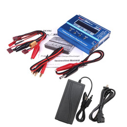 Wholesale Mini Rc Helicopter Lipo Batteries - SKYRC iMAX B6 Mini 60w Lipo Balance Charger Discharger & 12V5A AC Power Adapter for RC Battery Helicopter Drone