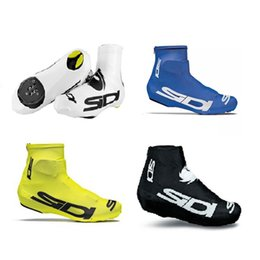 Wholesale Mountain Tours - New pro team sidi Cycling Shoes Cover dust proof Touring Bike Overshoes MTB Bicycle Shoes Cover mountain Racing bike Protective Gear B1802