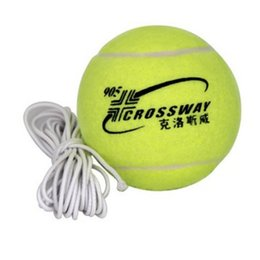 Wholesale Tennis Balls Sale - Training Tennis Balls With A Rope Crossway Primary Individual Practice Tool For Tennis Badminton High Quality Factory Direct Sale 4 9wb I1