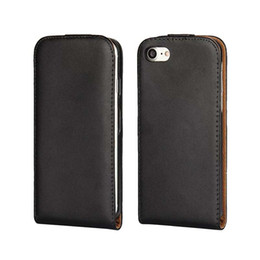 Wholesale Iphone Flip Down - Luxury Up and Down Open Flip Genuine Leather Case mobile phone Cover for iphone 7 plus 6S plus 5S NOTE7