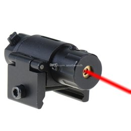Wholesale Laser Sights For Rifles Scopes - Red Beam Dot Laser Sight Scope with 11 20mm Rail Mount For Gun Rifle Pistol F00467 BARD
