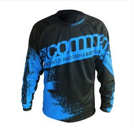 Wholesale Plus Equipment - Moto jerseys 2017 Speed Mountain run shirt Riding Jersey Equipment Surrender Commencal Watchdog Speed Dry Riding Off-road Long S