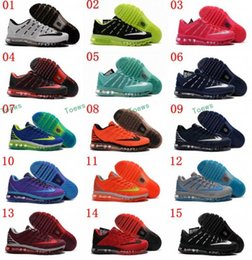 Wholesale Comfortable Hunting Boots - New Style Maxss 2016 II Nanotechnology KPU Running Shoes For Men , Top Quality Comfortable Maxs Shoes Sport Athletic Sneakers 7-11
