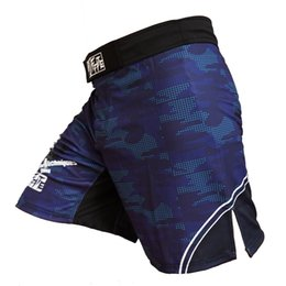 Wholesale Mma Fighting Shorts - Ffite Mens Boxing Pants Mma Shorts Fight Grappling Short Polyester Kick Gel Boxing Muay Thai Pants Thai Boxing Shorts Mma