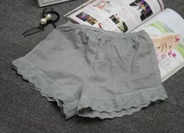 Wholesale Summer lace defensive shorts ladies thin section lace outside wear large size spring and summer leggings