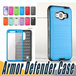 Wholesale Green Hd - Hybrid Brushed Dual Layered Defender Armor Case With Screen Protector For LG LV5 LV7 LV9 X Power2 X Calibur G5 G6 K7 K8 K10 2017 BLU R1 HD
