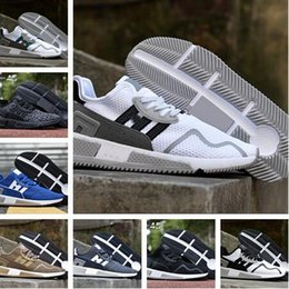 Wholesale Shoes Europe Men - 2017 EQT Cushion ADV Europe Exclusive 91-17 Mens Running shoes Core Black white Blue Red Women Equipment Outdoor Athletic sneaker Size 36-44