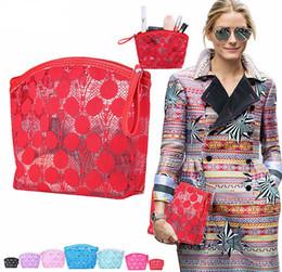 Wholesale Hot Girls Transparent - Hot Sale Elegant Women Cosmetic Bag Makeup Bag Transparent Fashion Cosmetic Organizer Travel Wash Pouch for Ladies Girls 5 color