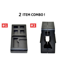 Wholesale Ar15 Rifles - 2 Combo AR15 M4 Armorer's Clamp Workbench Tool Kits.223  556 Lower Upper Vise Block for AR GunSmithing Rifle Build