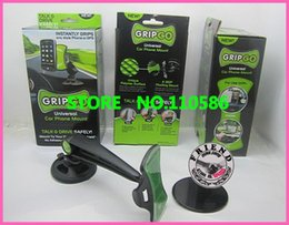 Wholesale Gripgo Car Mobile - free fedex.High Quality Free Shipping 150pcs lot gripgo grip go mobile phone holder GPS Car Holder Hands,in stock!