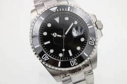 Wholesale Dial Sea Dweller - Luxury Brand High Quality Automatic Watch Sea Dweller Black Dial Stainless Band Watch Morno