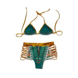 Wholesale Small Swimwear Bikini Set - Women Sexy Swimwear 2 Pieces Swimsuit Bikini Set with Small Strap