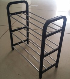 Wholesale Shoes Frame - Plastic Shoe Rack Three Layers Magic New Easy Shoes Frame Manufacturers Special Direct Sales Free Shipping Easy To Installation 5zy H